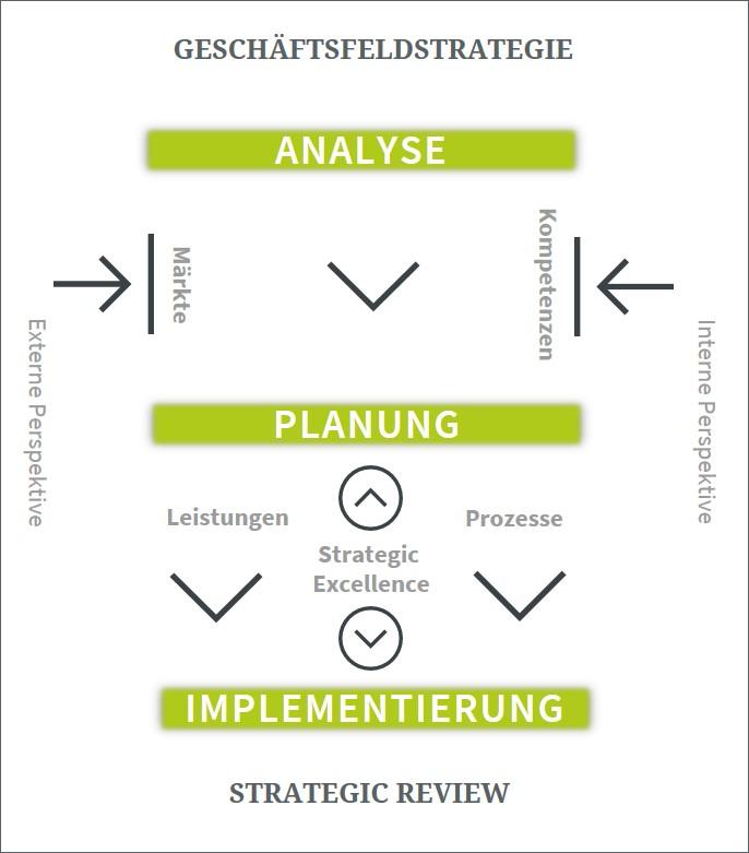 Modell Geschäftsfeldentwicklung