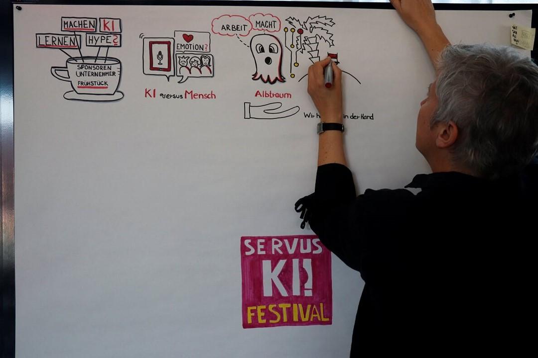Foto von Servus KI Festival